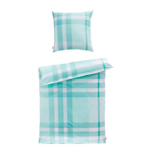 BETTWÄSCHE Satin Blau, Rot, Weiß 135/200 cm - Blau/Rot, Design, Textil (135/200cm) - Tom Tailor