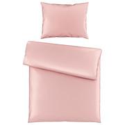 BETTWÄSCHE 140/200 cm - Rosa, Basics, Textil (140/200cm) - Novel