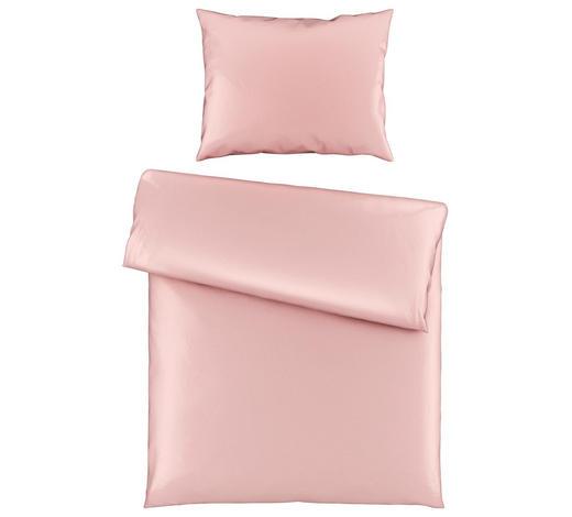 POVLEČENÍ, satén, růžová, 140/200 cm - růžová, Basics, textil (140/200cm) - Novel