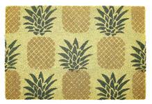 FUßMATTE 40/60 cm Schriftzug Gelb, Schwarz, Goldfarben  - Gelb/Goldfarben, Trend, Kunststoff/Textil (40/60cm) - Esposa