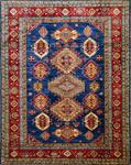 ORIENTTEPPICH Kazak Exklusiv   - Blau/Multicolor, KONVENTIONELL, Textil (70/140cm) - Esposa