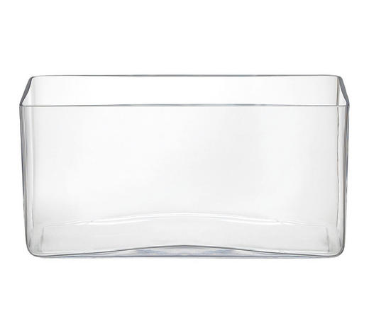 VÁZA, 15 cm - čiré, Basics, sklo (15cm)