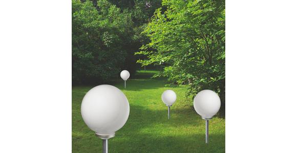 SOLARLEUCHTE - Silberfarben/Schwarz, Basics, Kunststoff (30/76,5cm) - Boxxx
