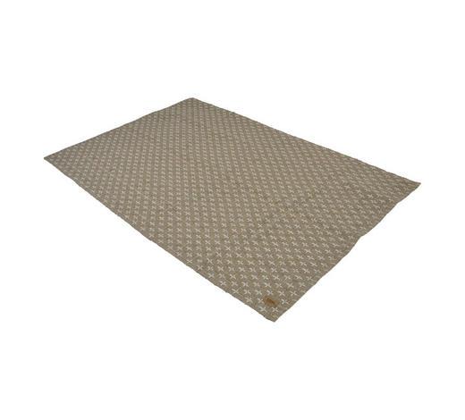 TEPPICH  140/200 cm  Weiß, Beige   - Beige/Weiß, Trend, Textil (140/200cm)