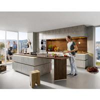 Einbauküche - Basics, Holzwerkstoff - Novel