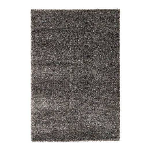HOCHFLORTEPPICH  133/195 cm   Anthrazit - Anthrazit, Basics, Textil (133/195cm) - Novel