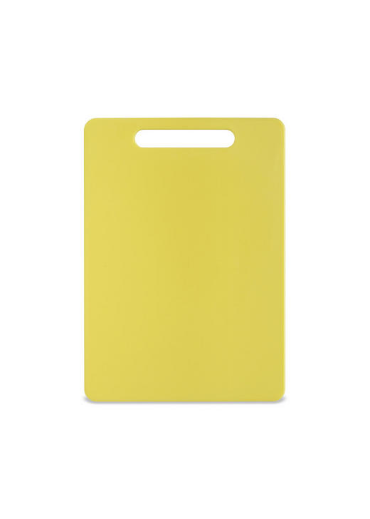 SCHNEIDEBRETT - Gelb, Basics, Kunststoff (34/24/0,6cm) - Homeware