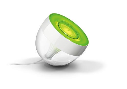 LED-TISCHLEUCHTE HUE IRIS  10 W - Weiß, Design, Kunststoff (18,8/20/18,5cm) - Philips