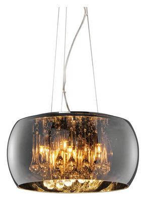 TAKLAMPA - kromfärg, Lifestyle, metall/glas (40,0/150,0cm)