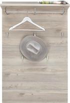 GARDEROBNI PANEL - srebrni hrast, Design, leseni material (85/128/30cm) - Voleo