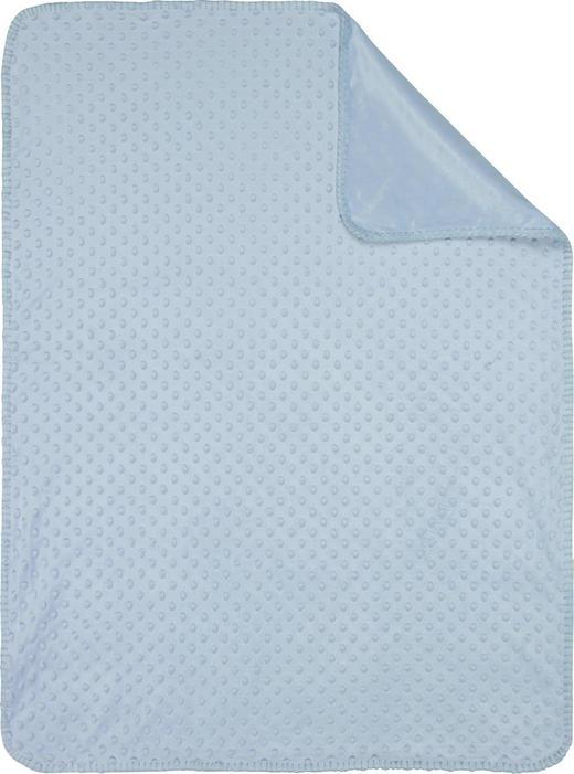 SCHMUSEDECKE - Blau, Basics, Textil (75/100/cm) - My Baby Lou