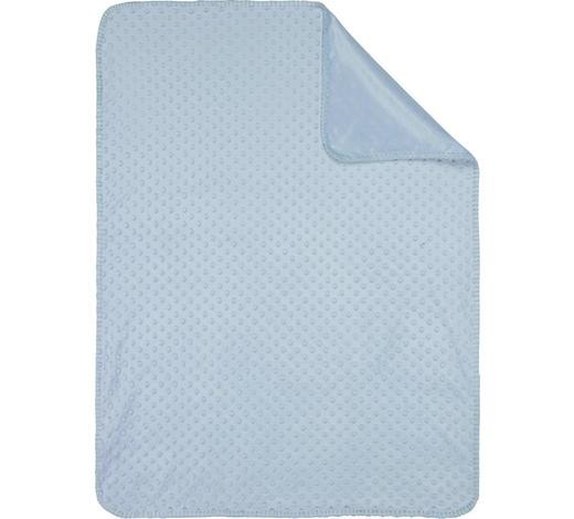 SCHMUSEDECKE - Blau, Basics, Textil (75/100cm) - My Baby Lou