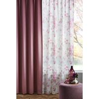 Fertigvorhang blickdicht - Rosa, Basics, Textil (140/245cm) - Esposa