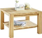 COUCHTISCH in Holz 70/70/45 cm - Eichefarben, Design, Holz (70/70/45cm) - Linea Natura