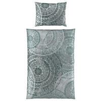 BETTWÄSCHE 140/200 cm  - Grau, LIFESTYLE, Textil (140/200cm) - Esposa
