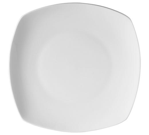 DESSERTTELLER 19,5 cm  - Weiß, Basics, Karton/Keramik (19,5cm) - Novel