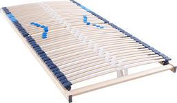 LATTENROST 90/200 cm Birke ,Schichtholz - Birkefarben/Weiß, Basics, Holz (90/200cm) - Hom`in