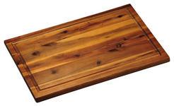 SCHNEIDEBRETT - Akaziefarben, Basics, Holz (26/1,5/40cm) - Homeware
