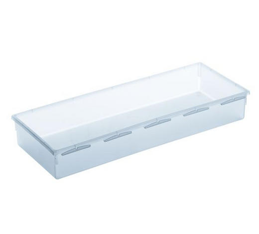 BOX ÚLOŽNÝ, umělá hmota - čiré, Basics, umělá hmota (38/15/5cm) - Rotho
