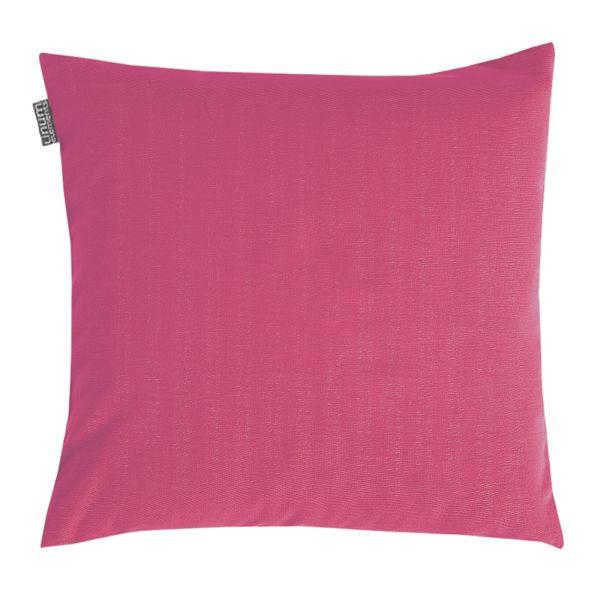 KISSENHÜLLE 50/50 cm - Beere, Basics, Textil (50/50cm) - LINUM
