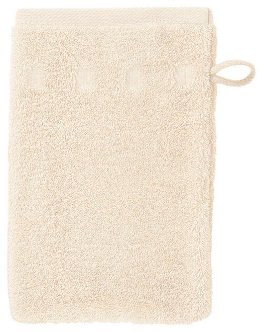 WASCHHANDSCHUH - Creme, Basics, Textil (16/22cm) - Vossen