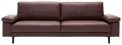 DREISITZER-SOFA Echtleder Braun - Schwarz/Braun, Design, Leder (200/95cm) - Hülsta Sofa