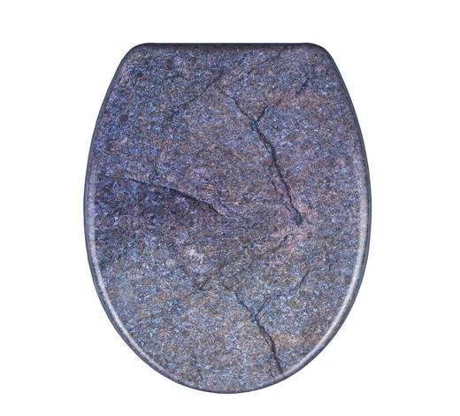 WC-SITZ - Taupe, Basics, Kunststoff (37,5/3,5/45cm) - Sadena