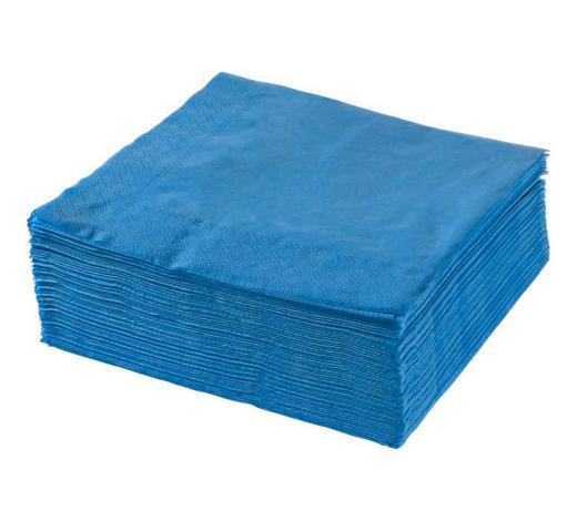UBROUSEK, 40/40 cm, modrá - modrá, Basics, papír (40/40cm) - Xxxlpack