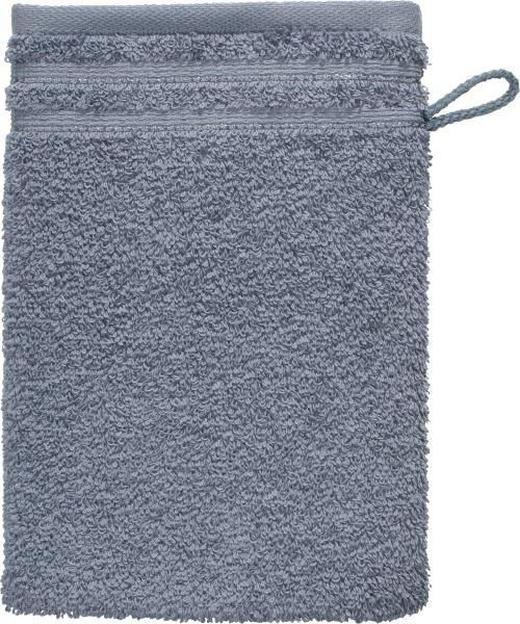 WASCHHANDSCHUH  Grau - Grau, Basics, Textil (22/16cm) - Vossen
