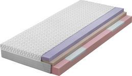 KALTSCHAUMMATRATZE 140/200 cm - Weiß, Basics, Textil (140/200cm) - Dieter Knoll