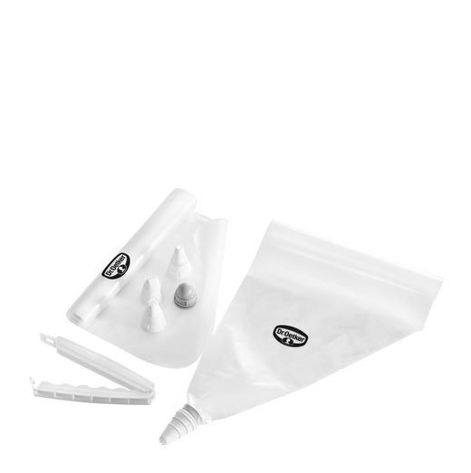 EINWEGSPRITZBEUTEL - Weiß, Basics, Kunststoff (3/7/24.5cm) - DR.OETKER