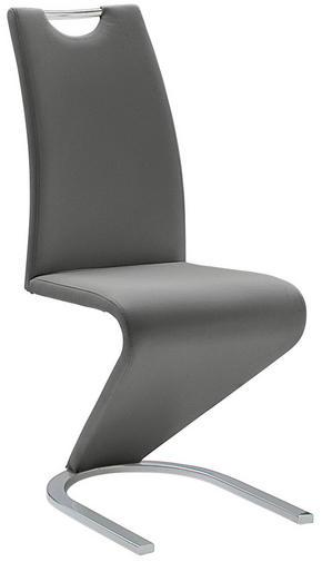 SVIKTSTOL - kromfärg/grå, Basics, metall/textil (45/102/62cm) - Carryhome