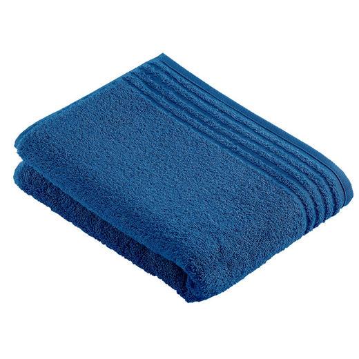 BADETUCH 80/160 cm - Blau, Basics, Textil (80/160cm) - VOSSEN