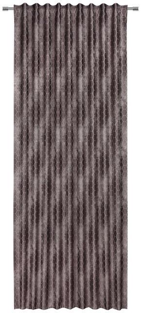 GARDINLÄNGD - antracit, Design, textil (140/245cm) - Esposa