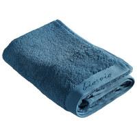 HANDTUCH 50/100 cm  - Petrol, Natur, Textil (50/100cm) - Bio:Vio