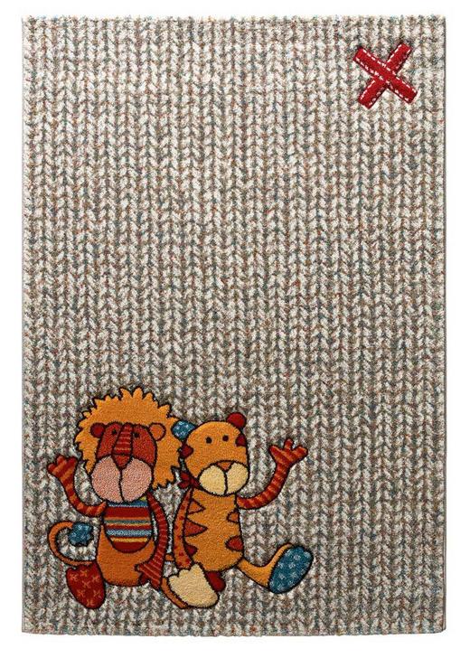 KINDERTEPPICH  120/170 cm  Beige, Grün, Orange, Rot - Beige/Rot, Textil (120/170cm) - Sigikid