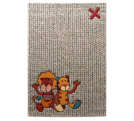 KINDERTEPPICH 80/150 cm  - Beige/Rot, Trend, Textil (80/150cm) - Sigikid