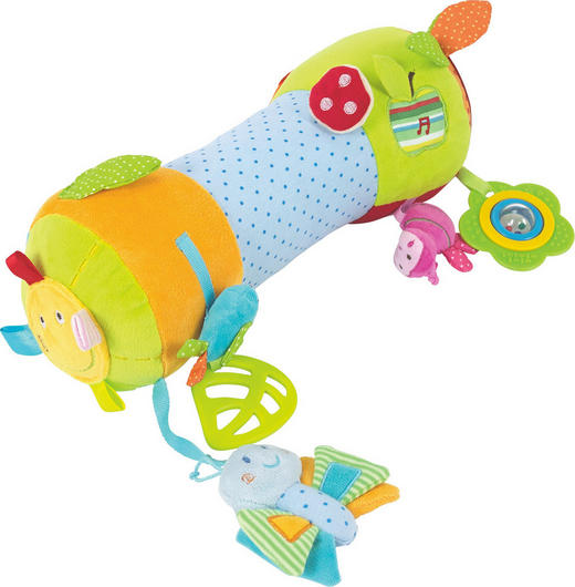 Motorikspiel Activity Rolle - Multicolor, Basics, Textil (34cm) - MY BABY LOU