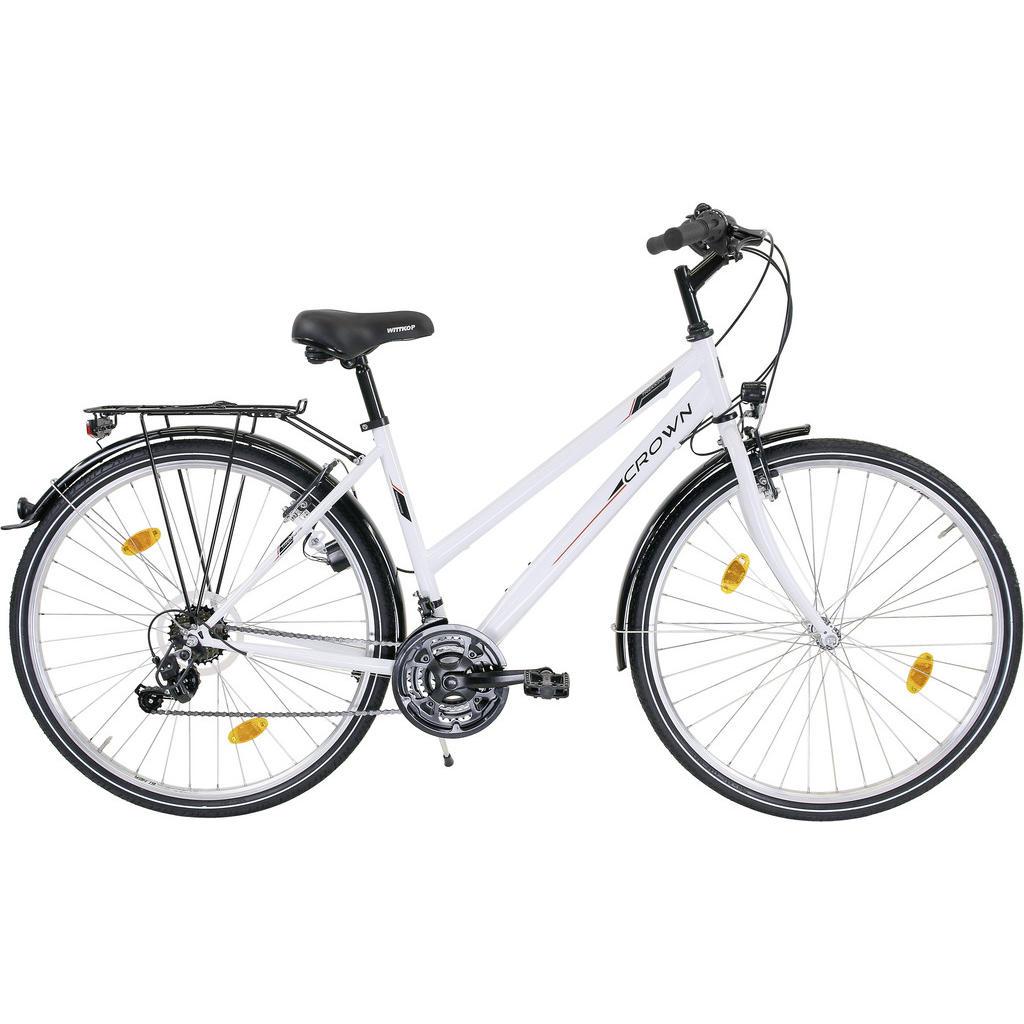 Trekking-Bike Damen 28' _ Weiß