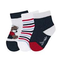 Babysöckchen 3er-Pack - Dunkelblau, Basics, Textil (13/14null) - Sterntaler