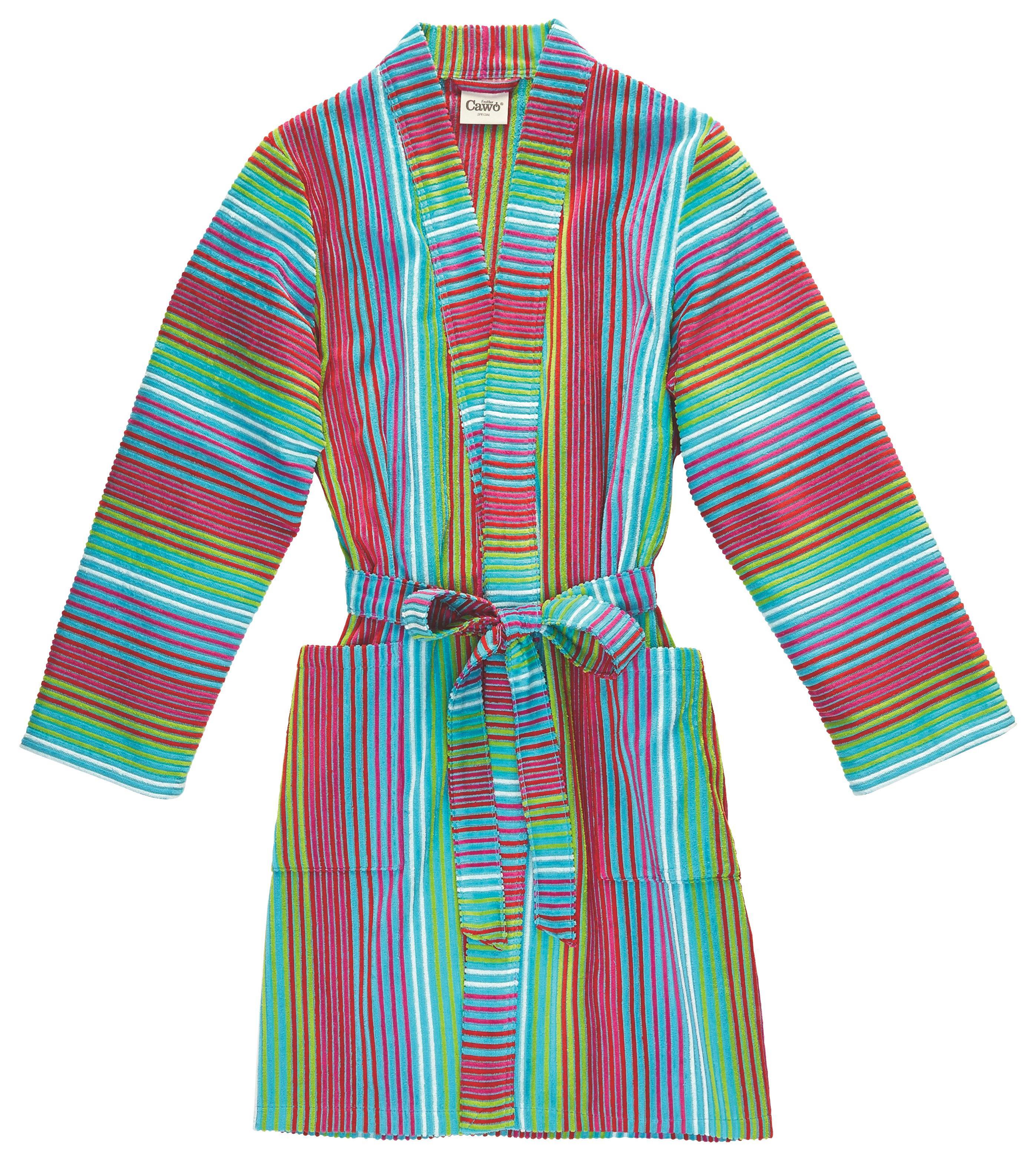 BADEMANTEL  Multicolor - Multicolor, Basics, Textil (44/46) - CAWOE