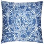 Zierkissen Tiara - Blau, MODERN, Textil (45/45cm) - Luca Bessoni