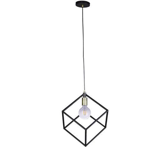 Hängeleuchte - Schwarz, Design, Metall (25/150cm) - Marama