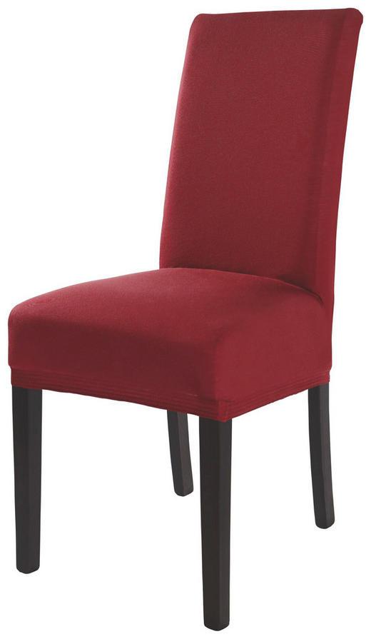 STUHLHUSSE Rot - Rot, Design, Textil (40/45/65cm) - Esposa
