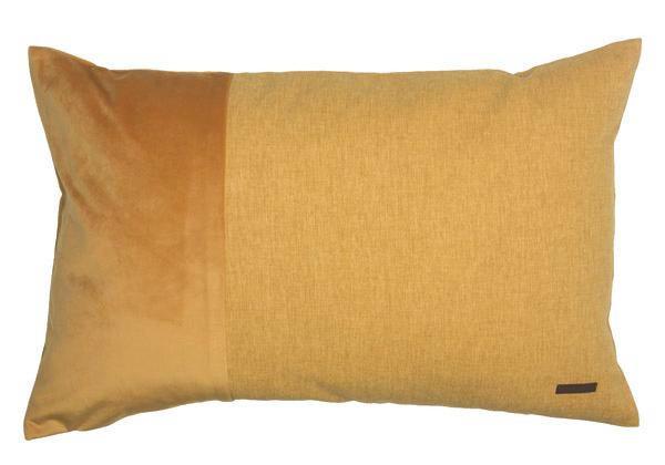 KISSENHÜLLE Gelb 38/58 cm - Gelb, Textil (38/58cm) - ESPRIT