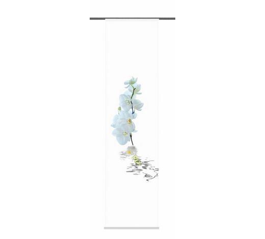 FLÄCHENVORHANG in Weiß  - Weiß, Design, Textil (60/245cm)