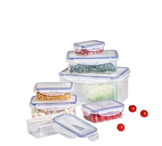 Frischhaltedosen-set  - Blau/Transparent, Basics, Kunststoff - Homeware