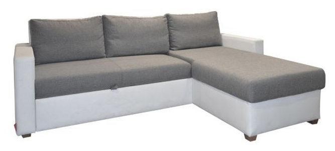 GARNITURA ZA DNEVNU SOBU - Prirodna boja/Siva, Dizajnerski, Tekstil (230/155cm) - Xora