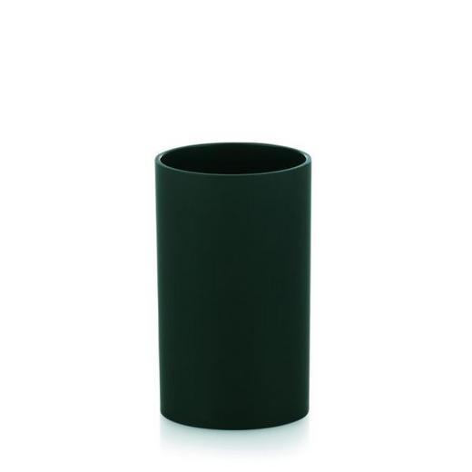 ZAHNPUTZBECHER - Schwarz, Basics, Kunststoff (6,5/11,5cm)