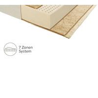 LATEXMATRATZE 90/200 cm  - Weiß, Basics, Naturmaterialien/Textil (90/200cm) - Joka